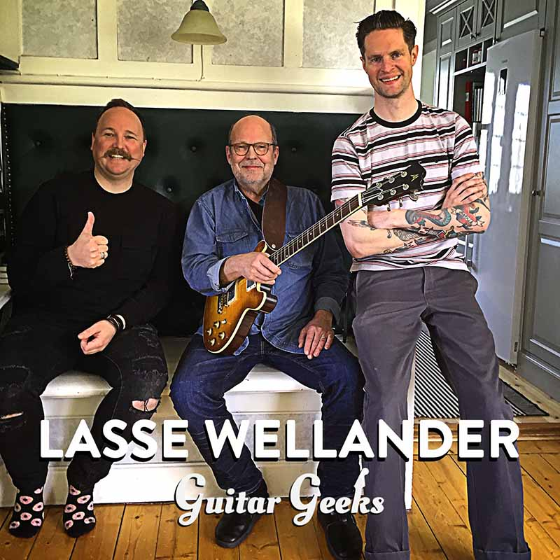 Lasse Wellander in the podcast Guitar Geeks