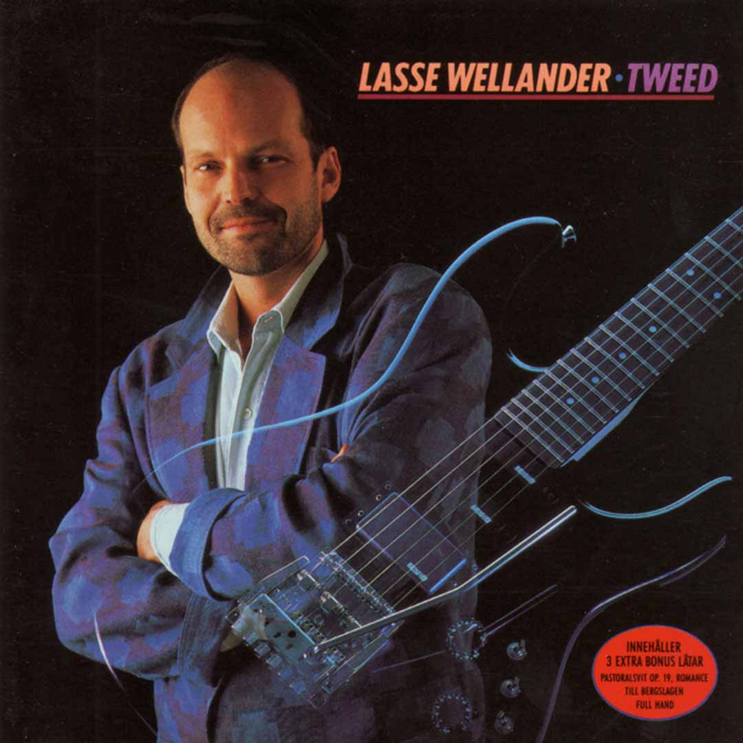Lasse Wellander - Tweed, cover